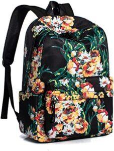 Leaper Water Resistant School Backpack for Girls